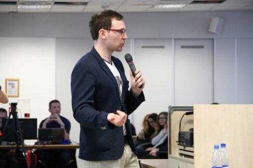 Prednáška o kryptomenách na FEM SPU v Nitre