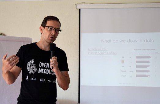 INESS na Open Data Media Camp v Moldavsku