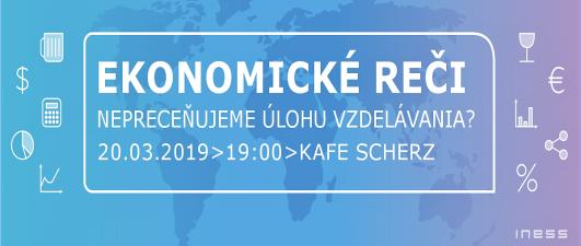 Pozvánka na Ekonomické reči #17