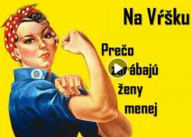 Na Vŕšku #14 - Prečo zarábajú ženy menej