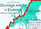 Dlhová kríza v Európe - príčiny a možné riešenia