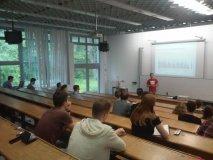 Diskusia o podnikaní na Ekonomickej univerzite